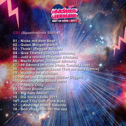 Best of Mashup-Germany 2008-2001 CD3 Cover